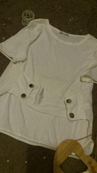 e85ff80bb Camisetas Zara mujer de segunda mano en Collado Villalba en WALLAPOP