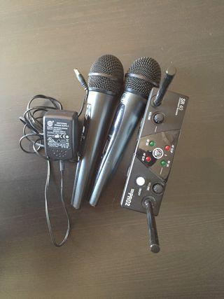 Micrófonos AKG WMS 40 PRO MINI VOCAL SET DUAL
