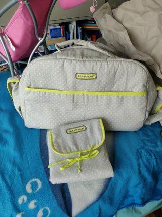 bolsa- maleta con cambiador