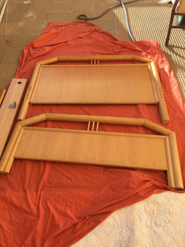 Cama De Bambu Estructura Completa De Segunda Mano Por 20