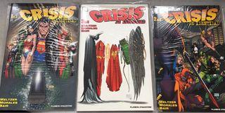 Comics DC Crisis de identidad