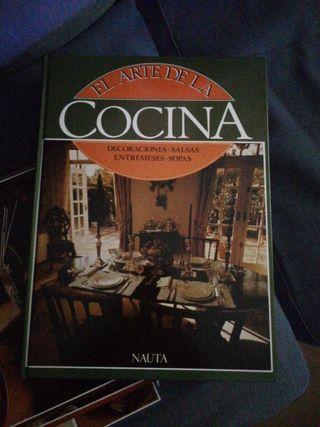 Libros de cocina (4 tomos)