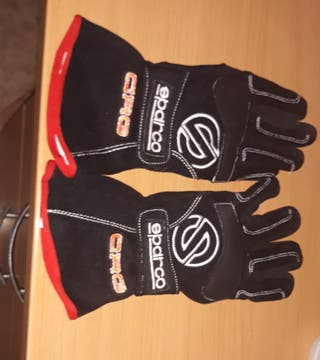 Guantes Sparco/Oficiales CRG (Karting)