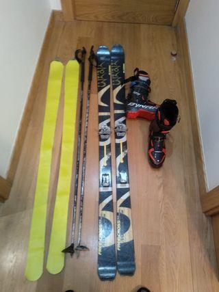 equipo esqui travesia