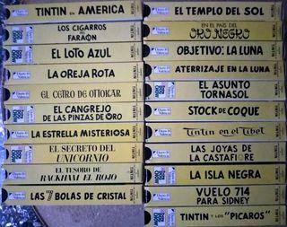Películas Tintín Colección VHS
