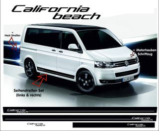 Vinilos pegatinas franjas Volkswagen California Beach