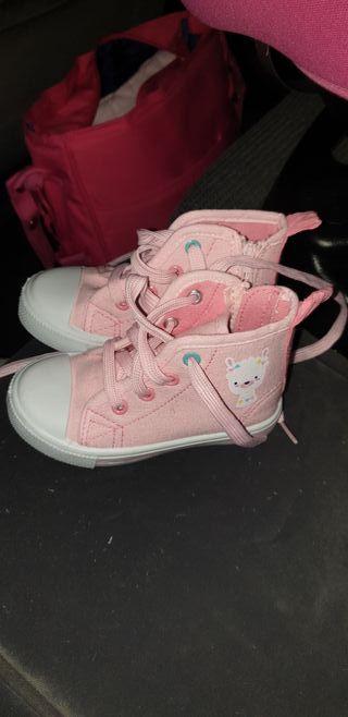 zapatillas niña número 22