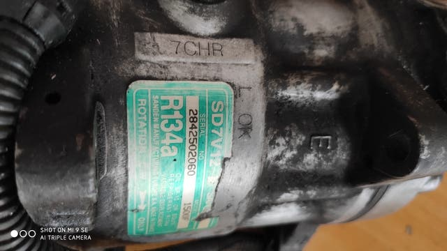 compresor aire acondicionado Citroen saxo