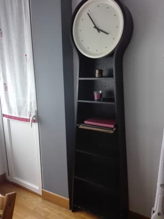 Reloj estantería de IKEA