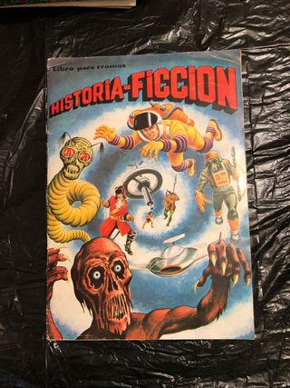 Album de Cromos Historia-Ficción Antiguo