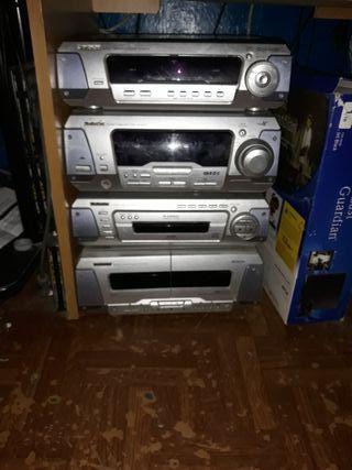 technics el cd no funciona lo demas perfecto