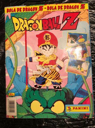 Album de Cromos Dragon Ball Z Antiguo