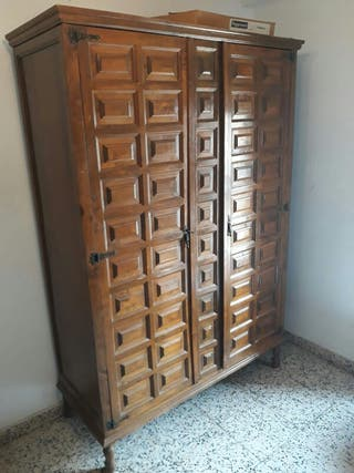 armario madera castellana