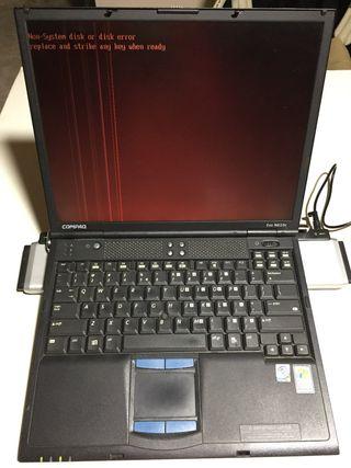 Despiece portátil COMPAQ EVO N610C