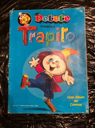 Album de Cromos Trapito de Petete 1984