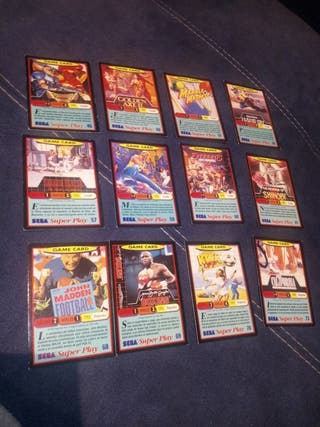 Cromos Sega Super Play