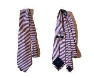 Furest/Corbata rayas 100% seda