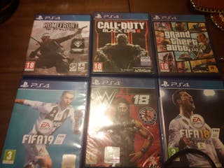 PS4 + 6 juegos