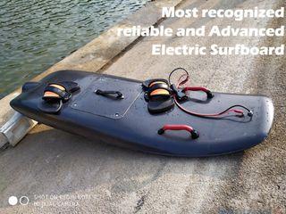 tabla de surf eléctrica