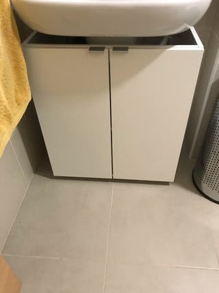 Armario lavabo con almacenaje