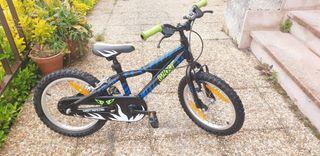 bicicleta GHOST de 4 a 6 años