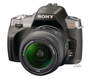 Cámara Sony Alpha 330