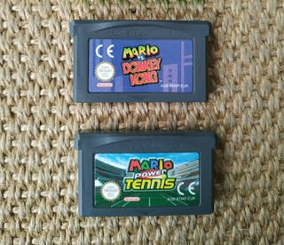 Juegos Mario para Game Boy Advance