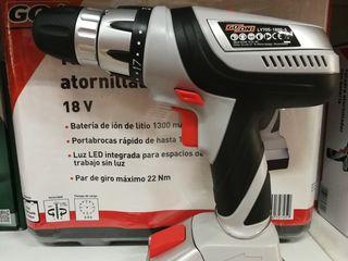 taladro atornillador 18V.nuevo