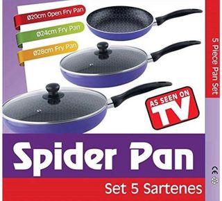 Spider pan sartenes 5 piezas
