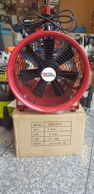 ventilador extractor de humo