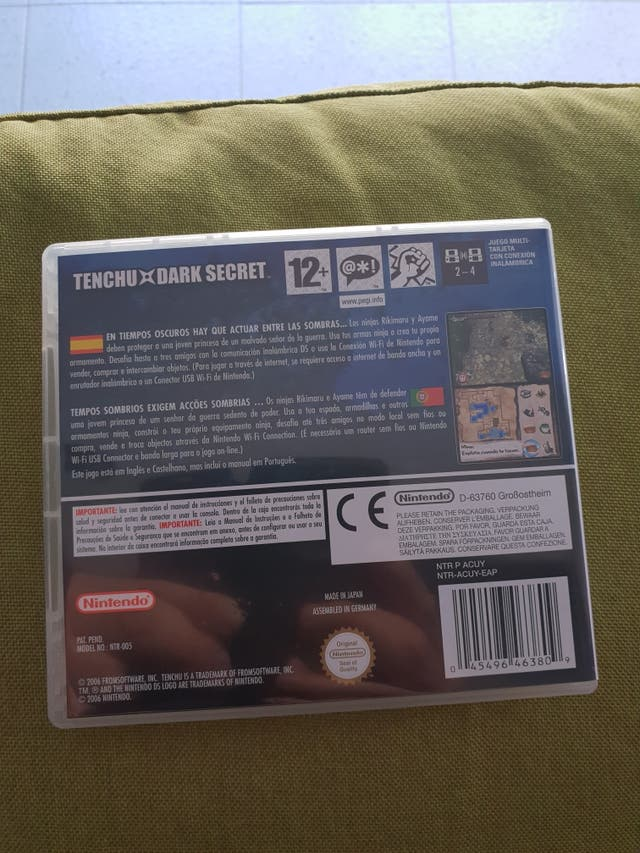 Tenchu Dark Secret. Nintendo DS , DSLite....