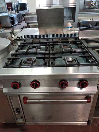 Cocina 4 fuegos repagas