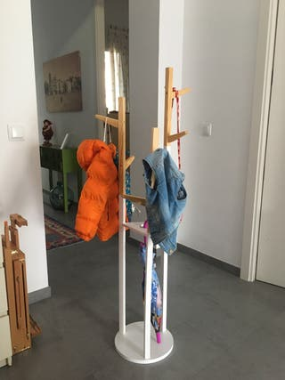Perchero madera niños estilo nórdico