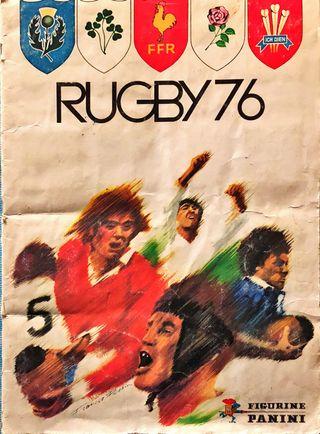 Album de cromos de rugby 76.
