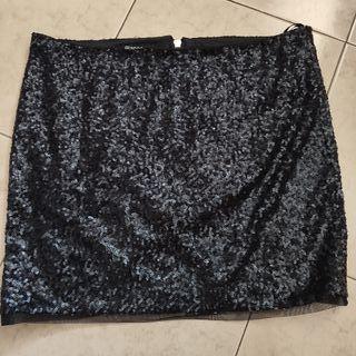 falda lentejuelas nueva