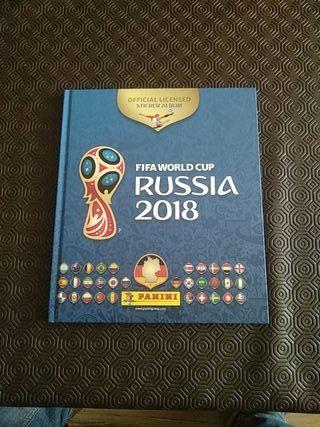 Álbum cromos Mundial Rusia 2018