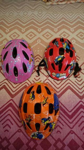 Cascos bicicleta niño/a