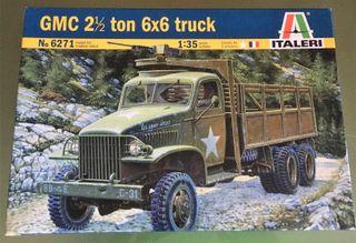 Maqueta ITALERY 1/35 - GMC 2 1/2 TON 6X6 TRUCK