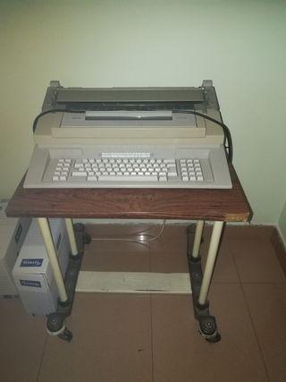 Máquina escribir antigua olivetti