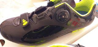Zapatillas Luck Pro F negro/amarillo MTB N.43