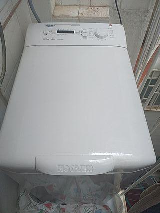 lavadora carga superior 2años