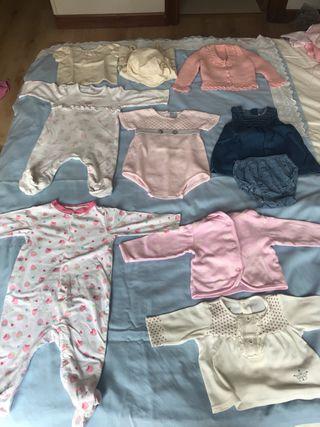 Lote ropa niña 0-3 meses