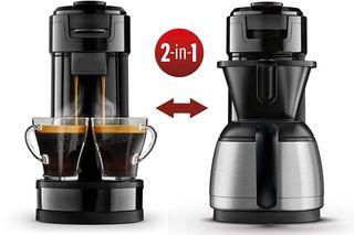 Cafetera Philips Senseo 2 en 1 Capsulas Goteo NEW