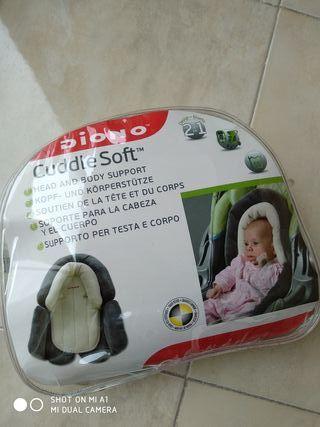 soporte para cabeza de bebé