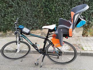 Silla niños bicicleta