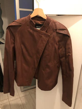 Leather jacket Max and Co