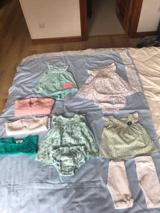 Lote de vestidos verano 6 meses