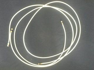 dos cables coaxiales