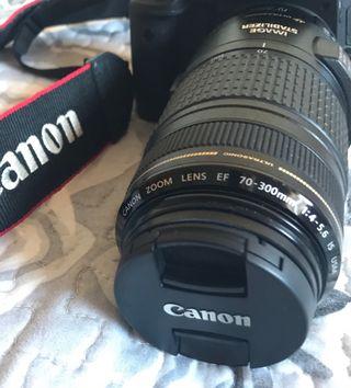 Objetivo canon 70 - 300 mm