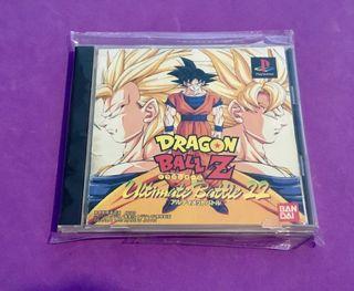 DRAGON BALL Z Ultimate battle 22 ps1 jap